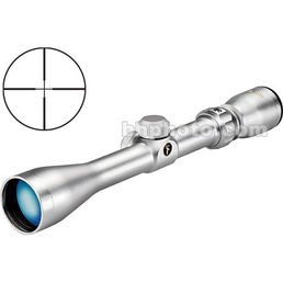 Tasco 3-9x40 World Class Waterproof & Fogproof Riflescope (7.8-2.9 Degree Angle of View) with 30/30 Reticle - Silver
